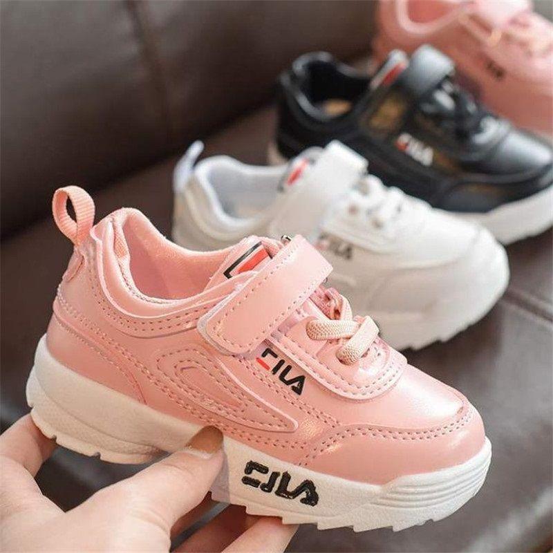 los zapatos para niños de 3-7 años niño del bebé zapatillas de deporte de moda zapatillas Kanesi infantil del bebé adolescente niño chico, chica verter los planos de tamaño de EE.UU.