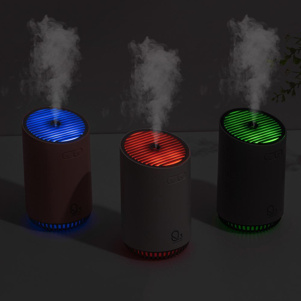 2019 new 320ML aromaterapia umidificador recarregável com bateria de 2000mAh wireless difusor de óleos usb ar aroma difusor Y200416 essencial