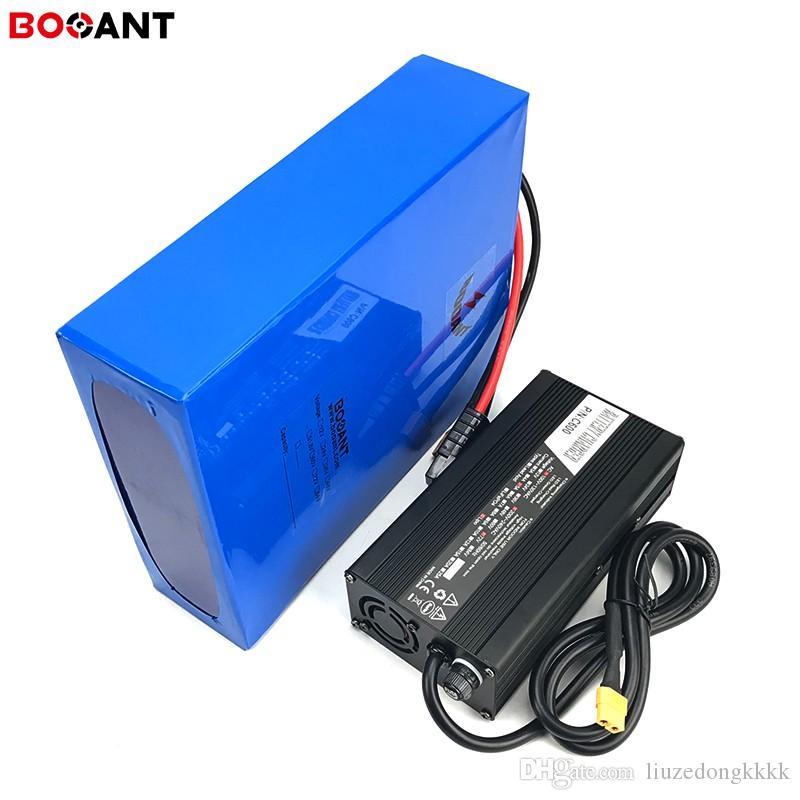 Batterie de lithium puissante de 1500W 3000w 4000w 72V 30Ah 30Ah 30Ah 30Ah 30Ah 20ah Batterie à vélo 72V pour la batterie Panasonic 18650