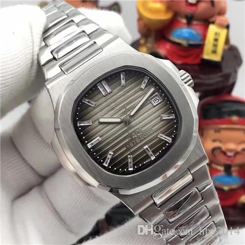 Orologi di lusso da uomo Orologio automatico da uomo Movimento meccanico Top Acciaio inossidabile 5711 1P Zaffiro di alta qualità Classico da polso da uomo