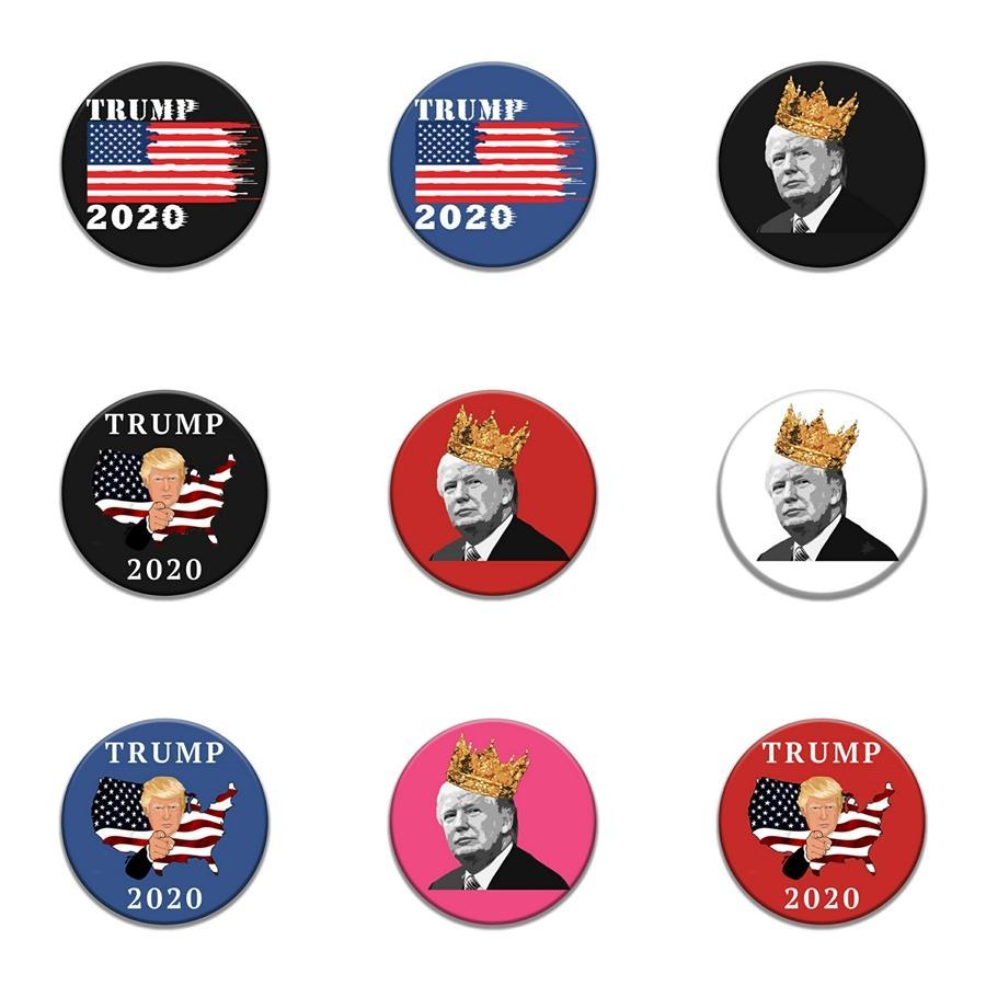 10 1 Pcs vert Patches Socket pour les vêtements de fer Mode Ecusson pour les vêtements couture Accessoires Appliqué Trump Badge Clothes I # 52