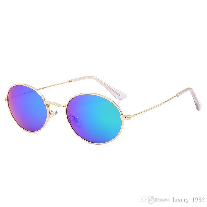 venta caliente Gafas de sol Hombres Mujeres Marca Gafas de sol UV400 gafas de lentes de gradiente Deportivas con casos y la caja 3547