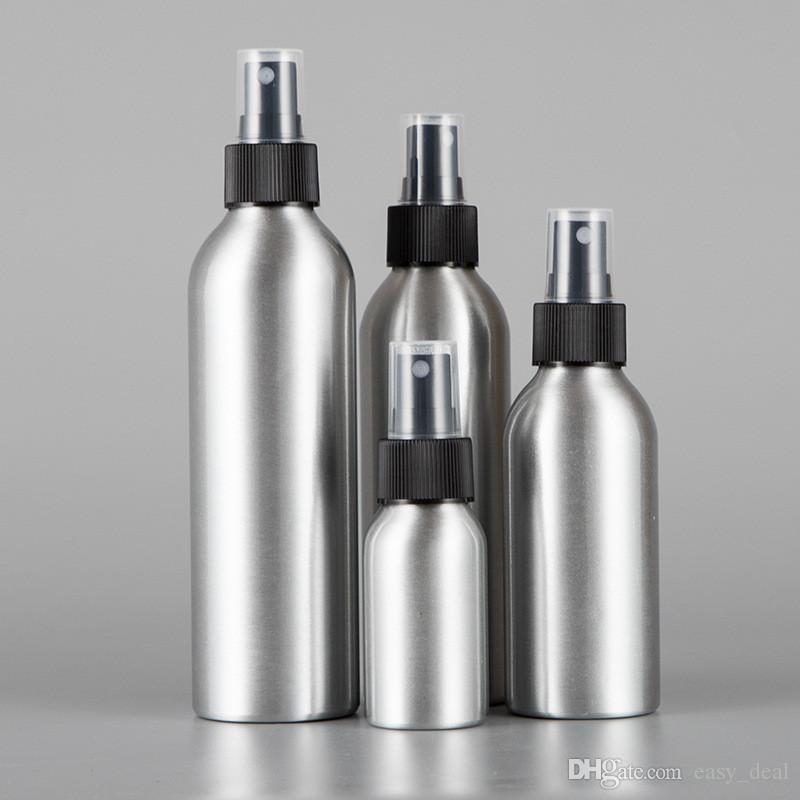 Spielraum-Aluminiumvorratsflasche Flüssigkeit Parfüm Make-up Container speichern Spray-Flasche Home Reise Box yq00725