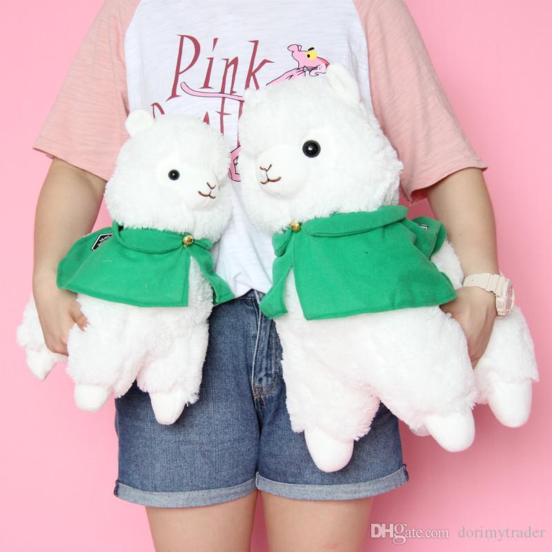 귀여운 귀여운 동물 알파카 플러시 장난감 잔디 진흙 말 인형 소년과 소녀 데코 생일 선물 20inch 50cm DY50575