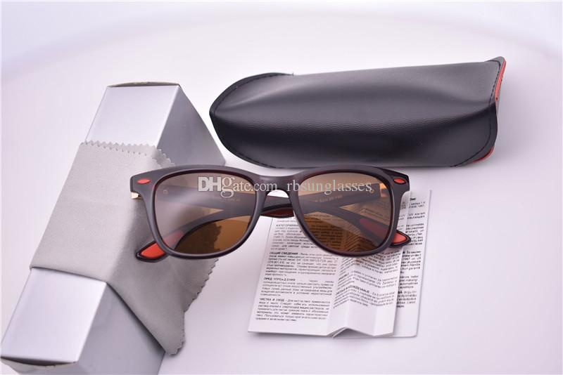 4195 Летней мода солнцезащитных очков женщины мужчин конструктора тавра ЦВЕТ PLANK кадр поляризованного солнцезащитные очки óculos De Sol с коричневым черным корпусом