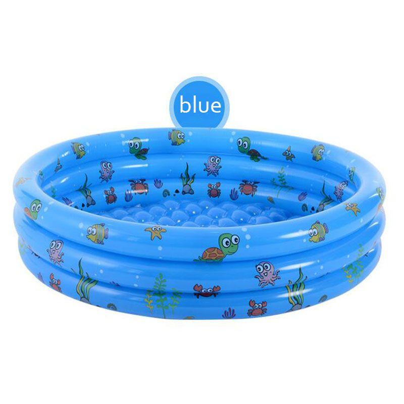Детский сухой бассейн игрушка Детских надувных Толстые ПВХ манеж для младенца портативного забор Болл Pit Новорожденного Открытый плавательный бассейн Ползучего
