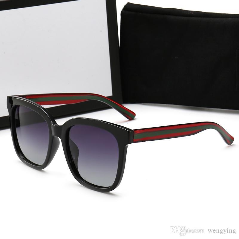 0034 1 stücke Cassdall Sonnenbrille Mattschwarz rahmen grau verlaufsglas mann frauen mode beliebte sonnenbrille 54mm kommen braun box