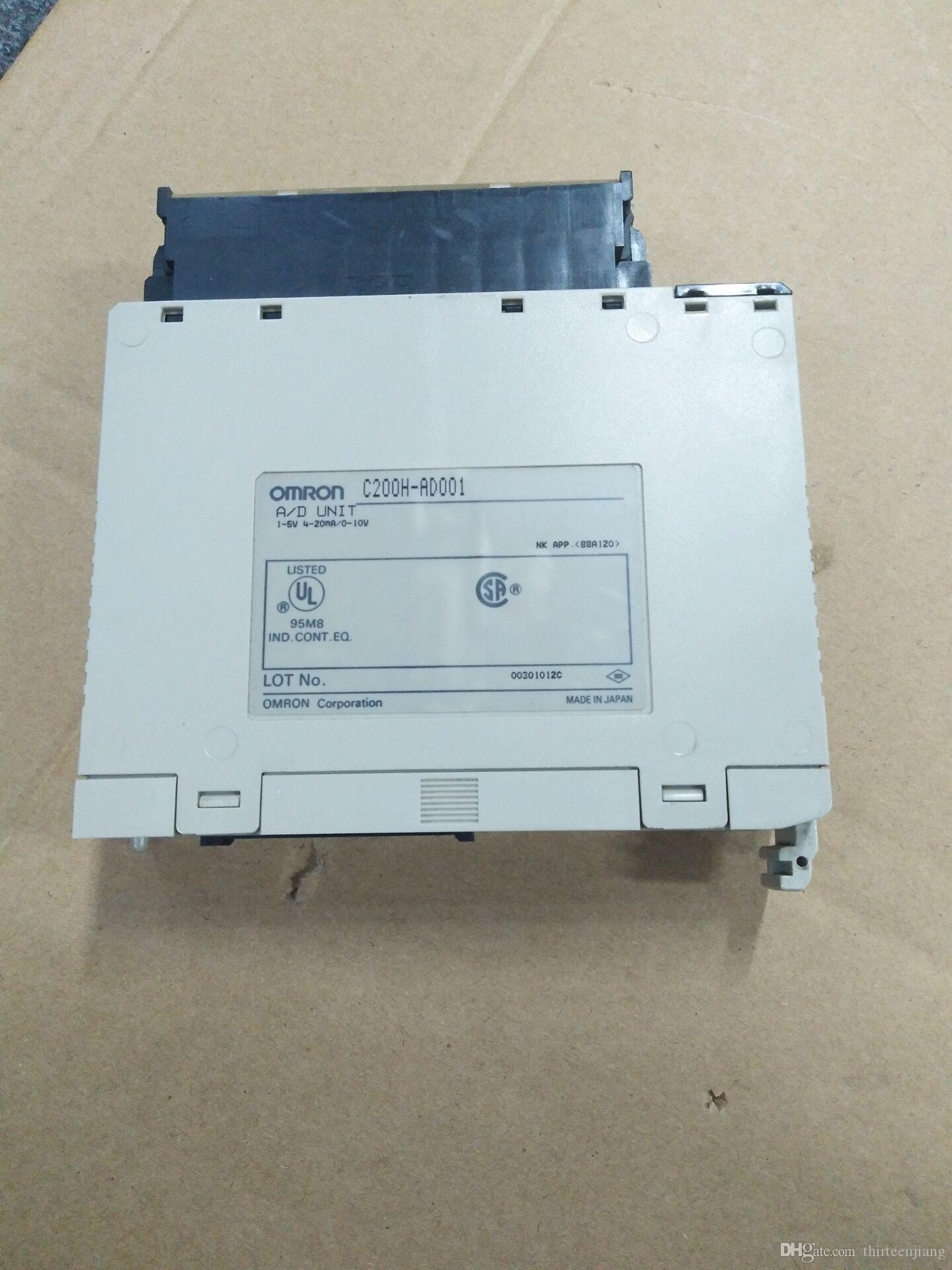 New In Box Omron 4 Point Analog Input A//D  PLC C200HAD001 C200H-AD001