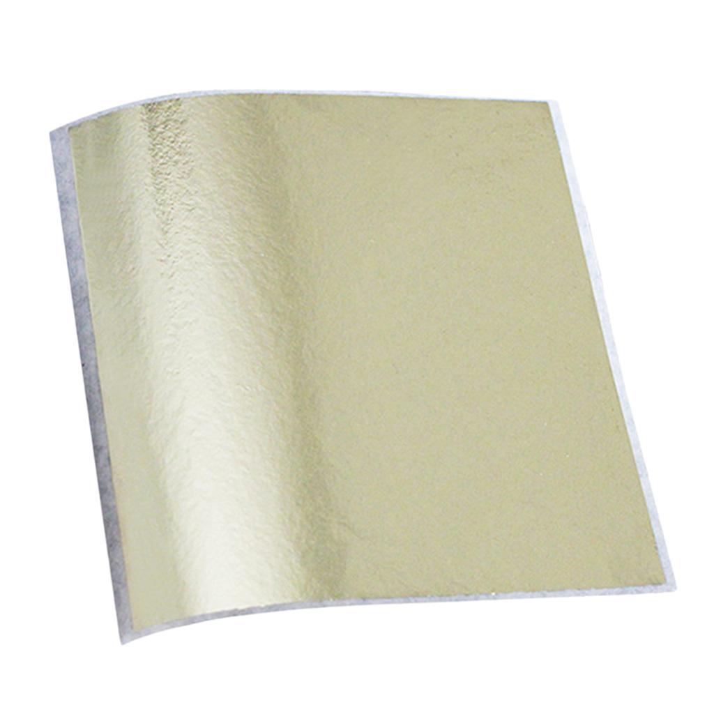 La hoja de oro de la hoja de papel dorado para la artesanía bricolaje decoración