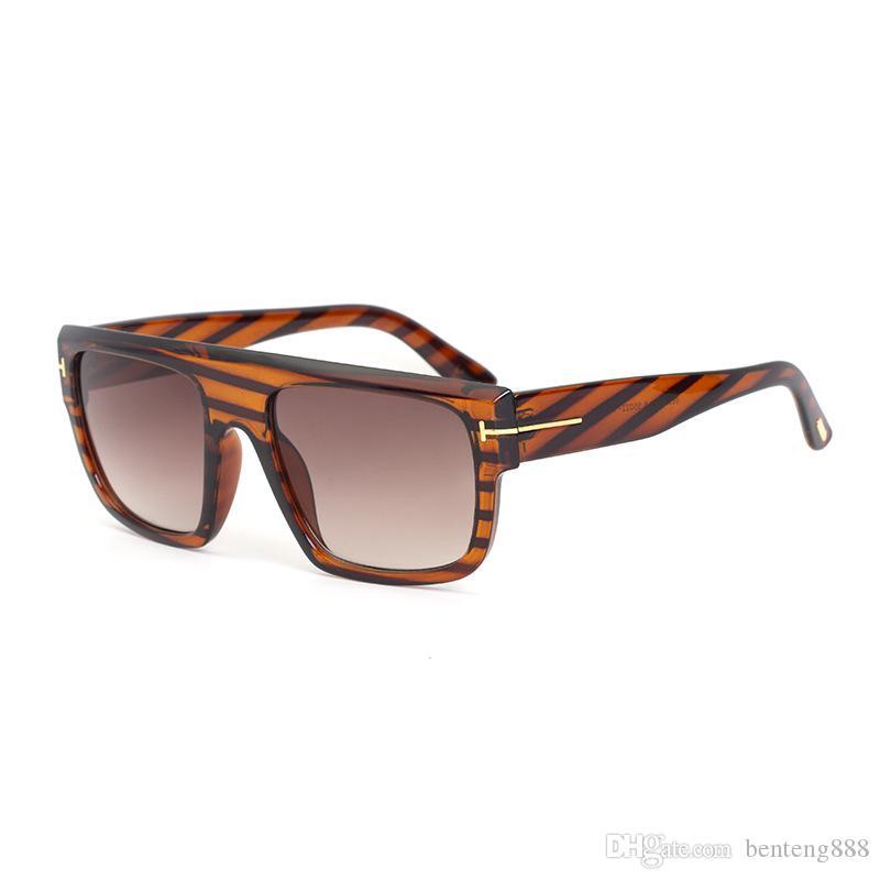2020 Nouvelle-gros luxe Top qualité New Fashion 211 Tom lunettes de soleil pour homme femme Erika Ey Ford Designer Brand Lunettes de soleil