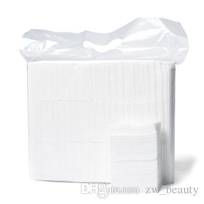 لينة يمكن التخلص منها يشكلون قطعة قماش للتنظيف الجاف يمسح المرأة العناية بالوجه وتنظيف القماش وسادات الوجه منشفة مناديل القطن