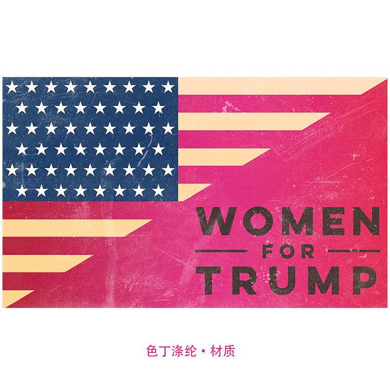 배너 휴일 장식 기사 2020 선거 18ym UU 매달려 90 X 150cm 여성을위한 트럼프 깃발 폴리 에스테르