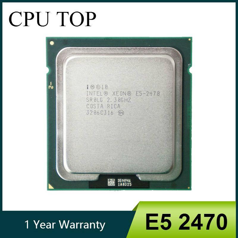 مكونات الكمبيوتر وحدات المعالجة المركزية إنتل زيون E5 2470 SR0LG 2.3GHz 8 النواة 20M LGA1356 المعالج CPU مكتب الكمبيوتر وحدات المعالجة المركزية