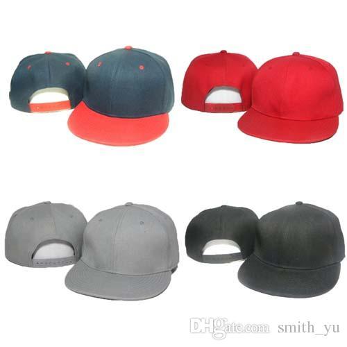 Fashion Snapback Caps Blank Plain Hats New Designer Men Women Classic Sport Snap back Baseball Cap Hip Hop Adjustable Hat