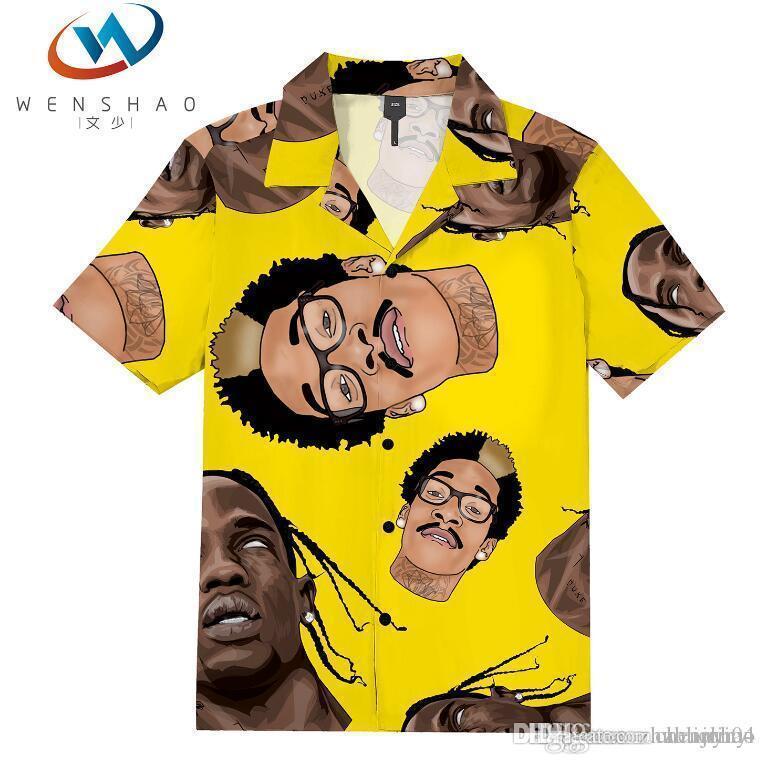 Medusa Gömlek 2020 erkek iyi iş ve eğlence moda gömlek ince uzun kollu gömlek baskı medusa suç 8vs04