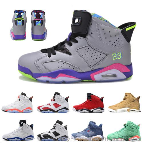 Nuova vendita calda 3m 6s Jsp riflettente argento dei pattini di pallacanestro 6 pattini di sport di addestramento Sneakers 2019 Infrared calzature outdoor di atletica