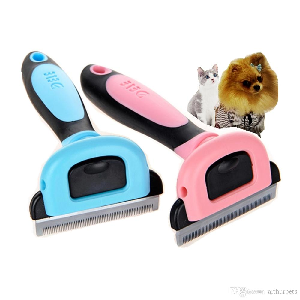 Pet Brush Dog Combs for Shedding Glove Matted Hair Cleaning Grooming Cat for Cats Long Haired Kitten Puppy Dematting