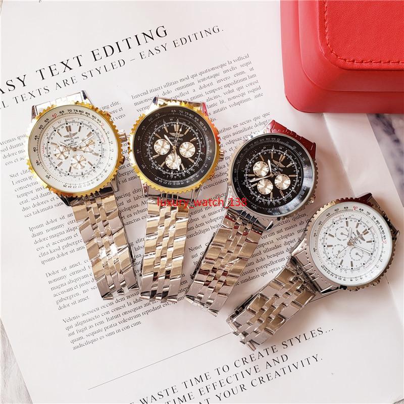 2019 Orologio da polso Vintage 5514 Asia Movimento Movimento meccanico automatico in acciaio inossidabile Moda uomo orologi orologi spedizione gratuita
