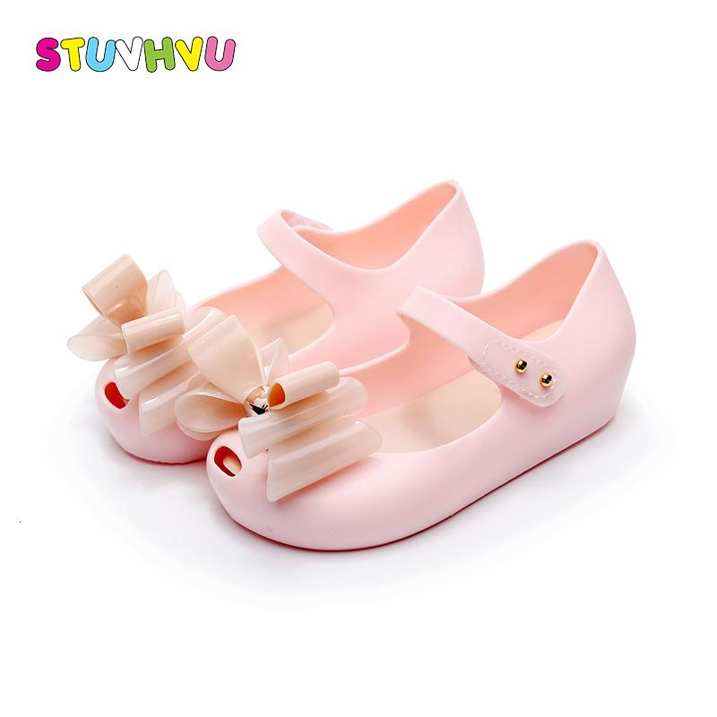 2-6 Years Children jelly Foot Inside Length 15-18.5cm summer fashion butterfly bow-tie girls sandals fish head soft student pvc shoes kids