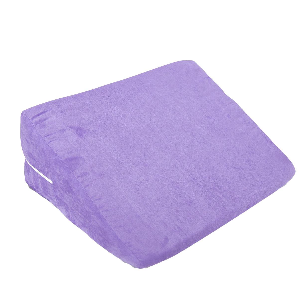 Casal Jogo Wedge Microfibra Almofada De Espuma De Sexo Travesseiro Posição Rampa Auxiliar P AU65