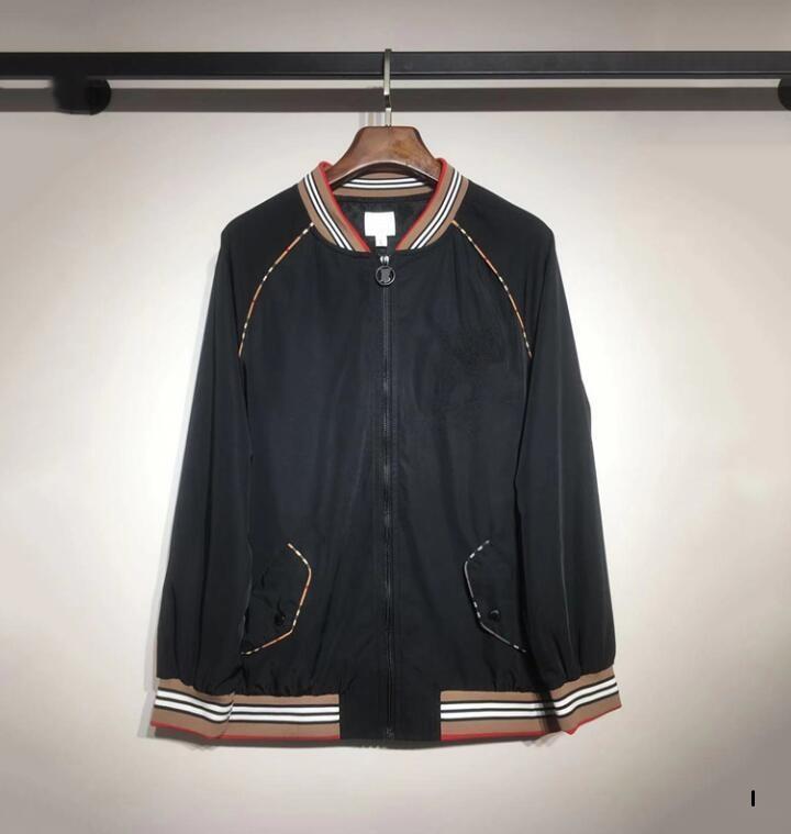 Designer Automne Veste Homme avec lambrissé modèle de luxe pour hommes Veste avec poche nouveau manteau est arrivé avec Lettre Marque Grande Qualité M-2XL