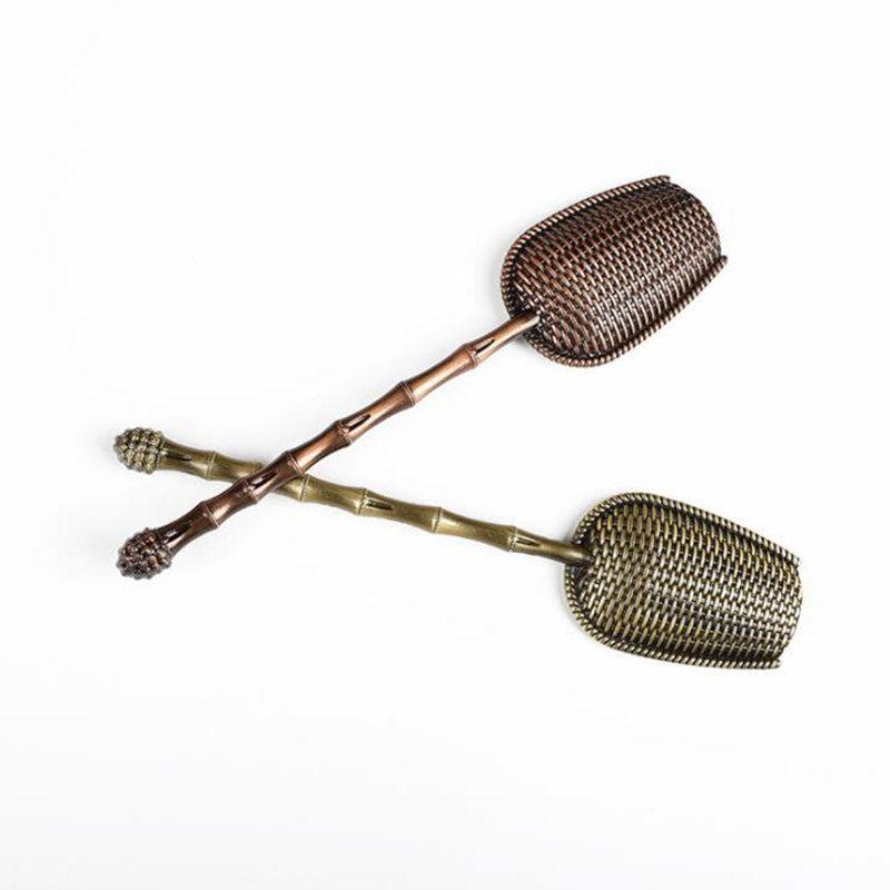 빠른 차 스푼 위치 국자 삽 차 잎 선택기 홀더 중국어 쿵푸 차 액세서리 도구 배송 NO241