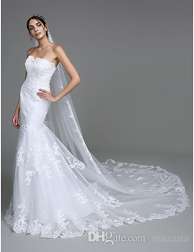 long tail crepe mermaid wedding dresses 2019 new style backless decoration sexy beautiful wedding dress Robes De Mariee