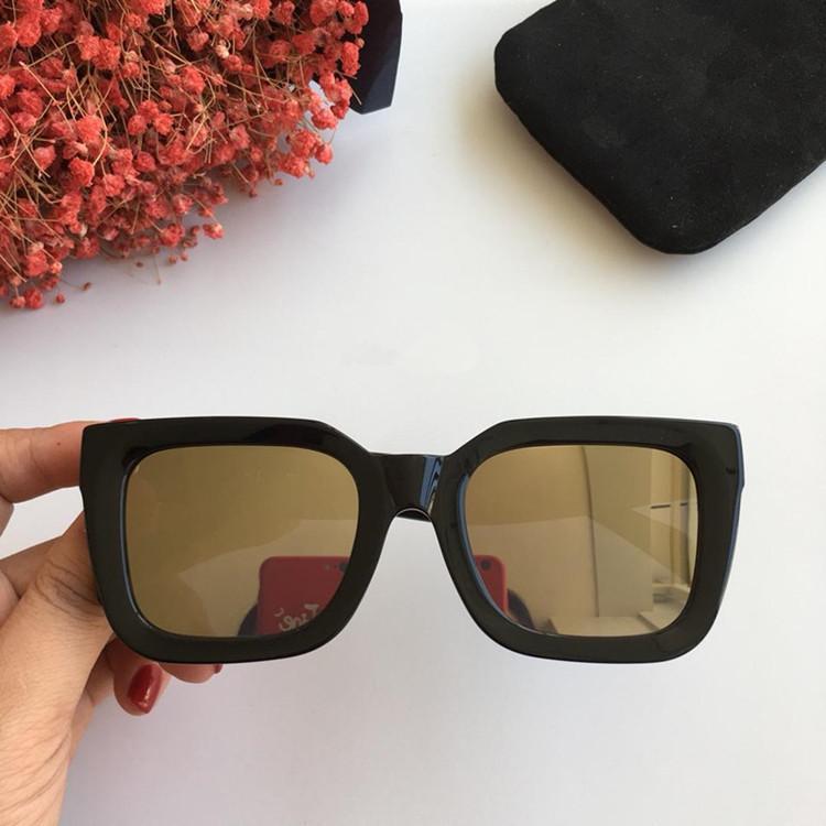 2020 NUEVA llegada EURO-AM Marca CL41450 gafas de sol tablón puro exquisito gafas de sol de salida de fábrica del OEM de alta calidad de gran marco de la hembra gruesa