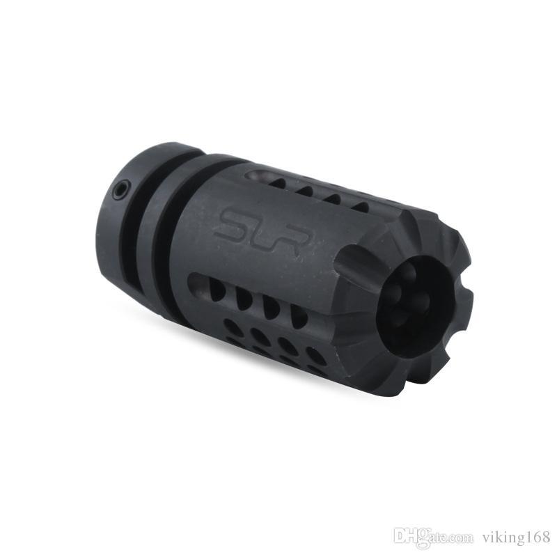 1/2 28 threads .223 SLR Muzzle Device M4/M16 AEG GBB Steel muzzle brake