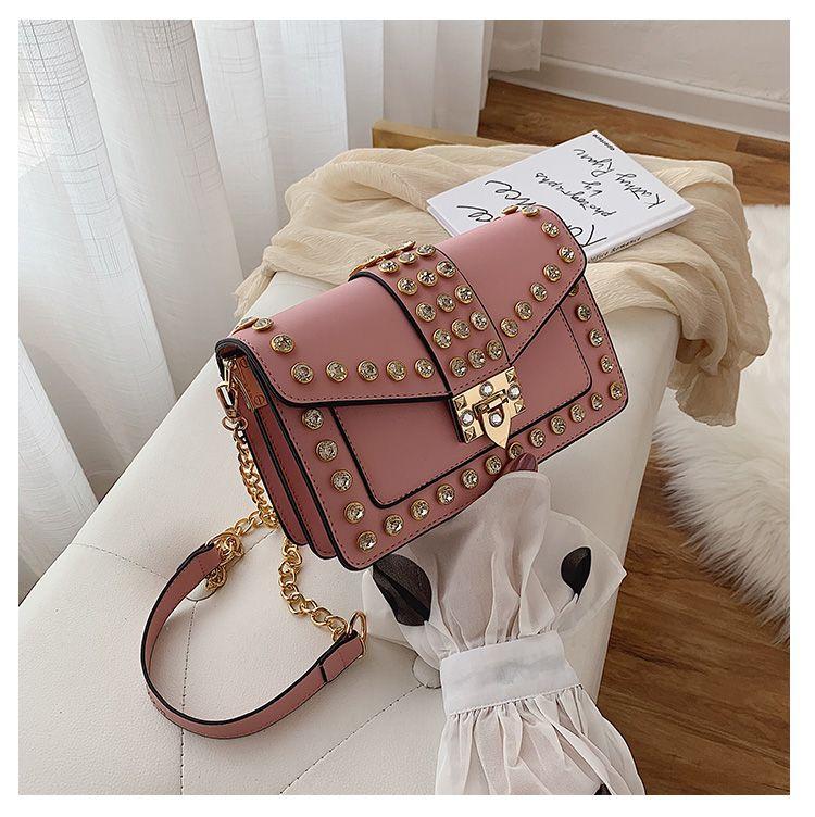 Diseñador-2019 bolsos de la mujer de lujo de Nueva Bolsa de hombro alta calidad del diseñador de hombro de la cadena bolsas bolso de mano de las señoras de la bolsa de mensajero Sac principal