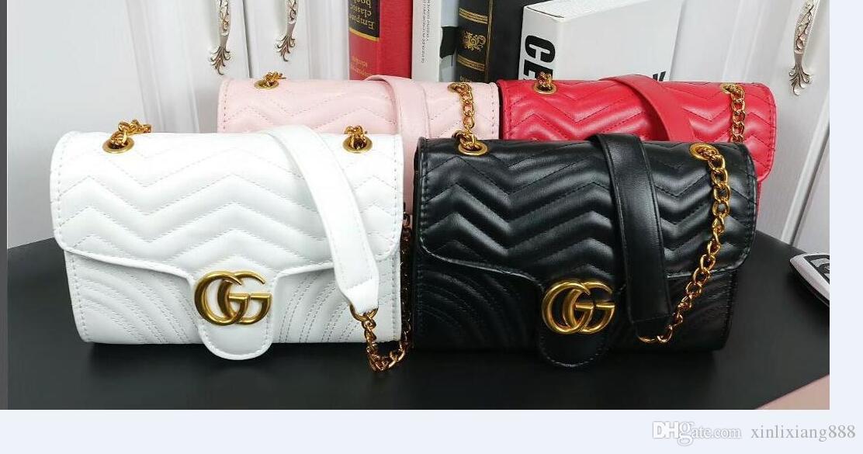 Hochwertige Mode für Männer Frauen Lederhandtaschen Geldbeutel-Schulter-Beutel-Einkaufstasche-Handtaschen-Geldbeutel Freien 0015 Versand