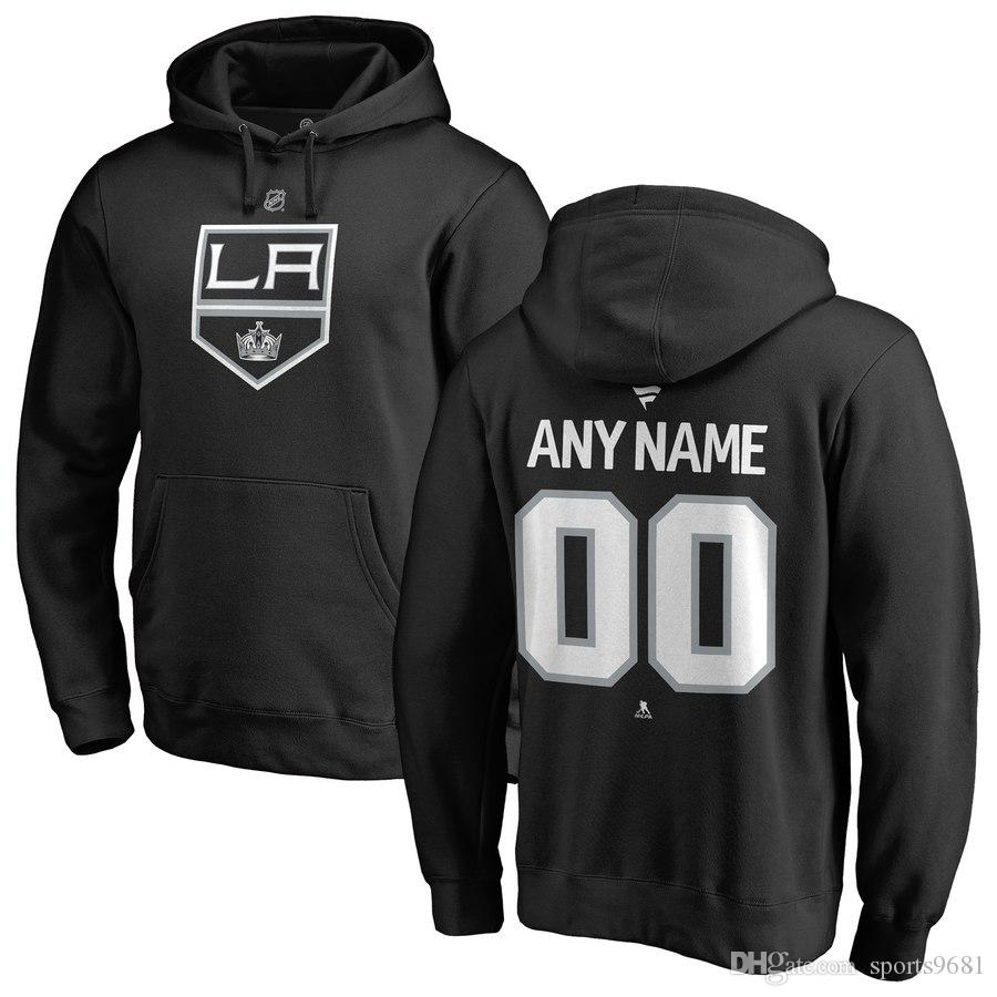 مبيعات الجملة NHL لوس انجليس الملوك أنزه كوبيتار تايلر توفولي اليكس Iafallo مخصص أي اسم ورقم الرجال والنساء بلوزات هوديس