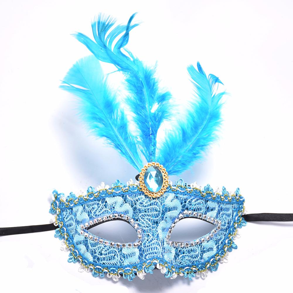 Masquerade Ball Masks Halloween Ball Costume Silver Crystal Mask Fany Dress