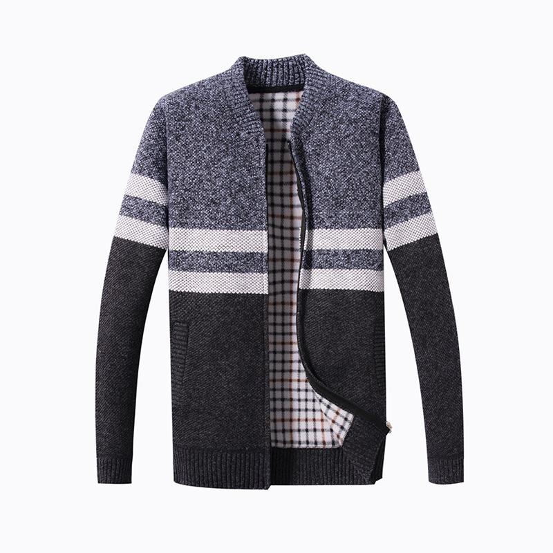 Men Winter Cardigan Sweaters Thicker Warm Outwear Sweaters Coats New Fashion Male Cardigans Casual Size 3XL