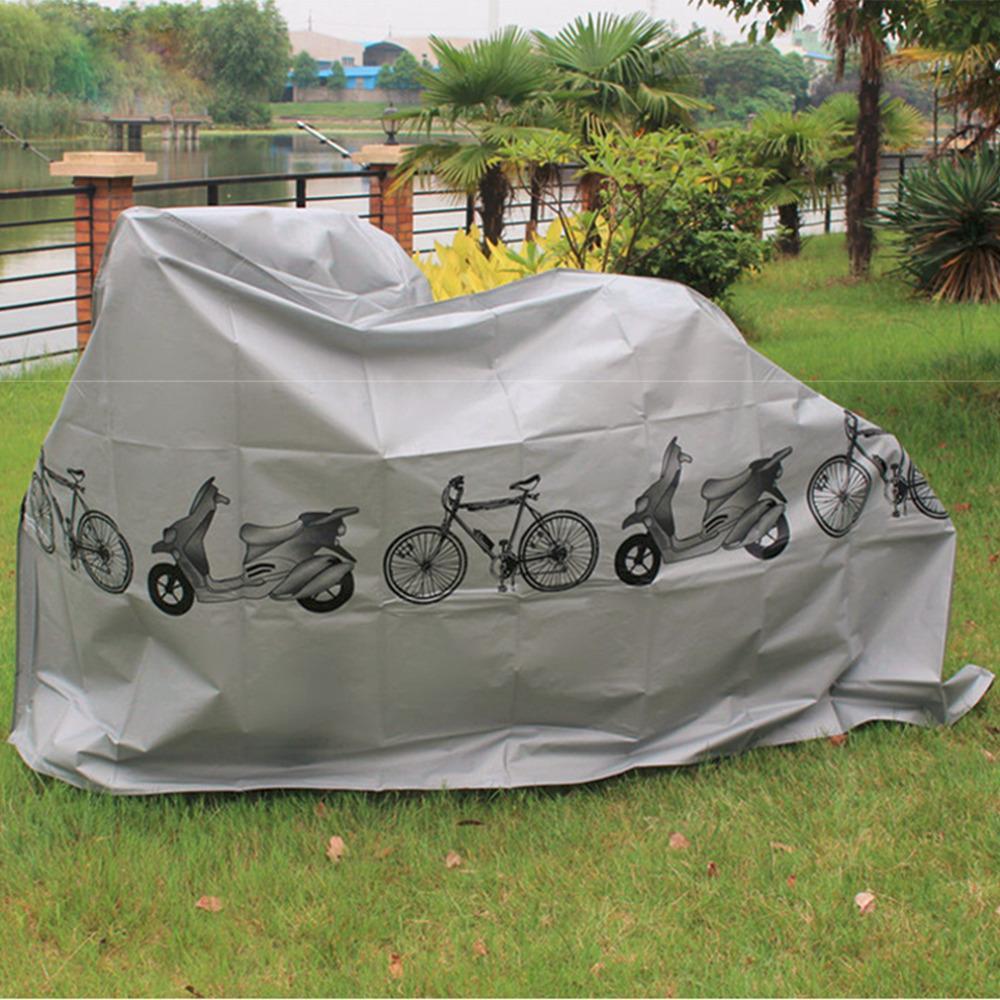 Ciclo de bicicleta Protector de lluvia impermeable a prueba de polvo de la bicicleta Vintage Road Mountain Hybrid Bicicleta motocicleta cubierta de polvo de nieve Envío gratis