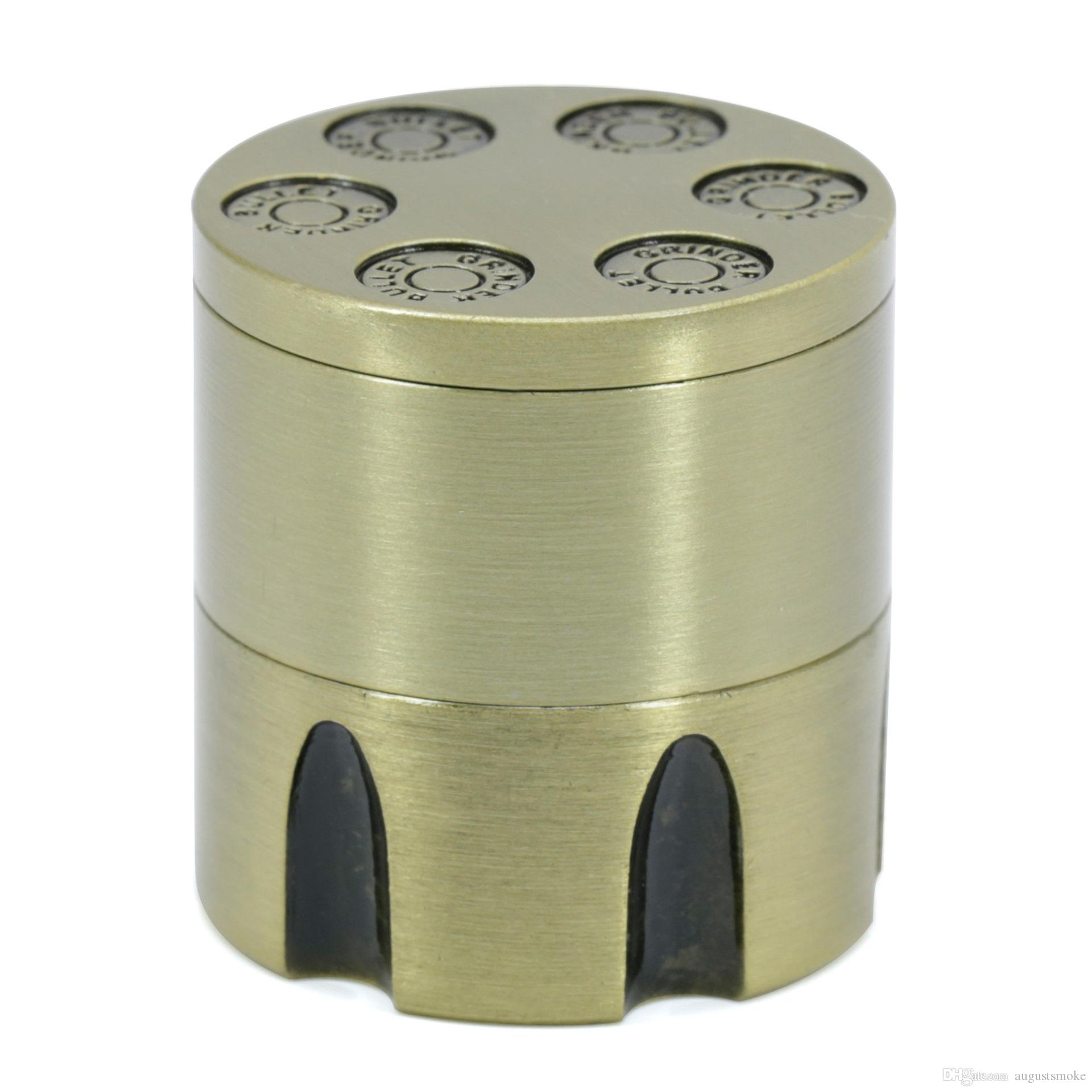 Bullet Hot New Diametro Diametro 30 3 mm Style in lega di zinco Grinder Grinder Vendita Revoluzione Bronzo Pezzo Grinder 4411-30 FFMQP