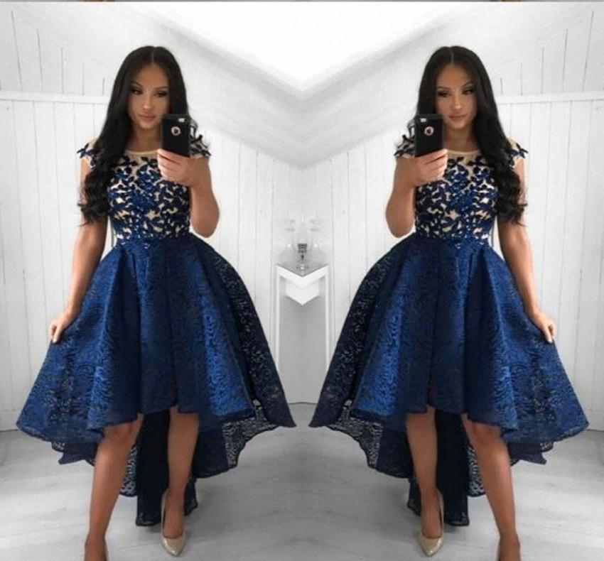 Sexy Navy Blue Cocktail Dresses 2019