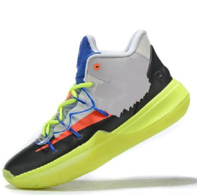 2020 Nueva Kyrie Irving 5 V para los hombres zapatos de baloncesto de tamaño Entrenador de Baloncesto Botas de la zapatilla de deporte Deporte 7-12 a51