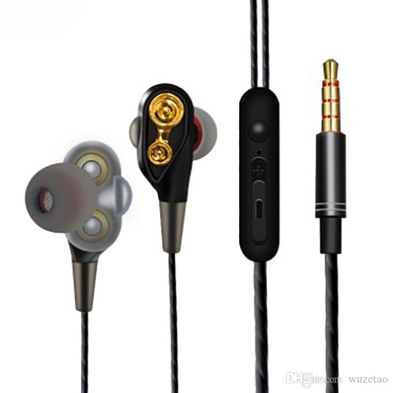 마이크 스포츠 음악 항공 우주 금속 재료베이스 3D 스테레오 서라운드 사운드 노이즈 제거 HD 통화 3.5mm의 플러그 헤드셋과 이어폰 스마트 라인 제어
