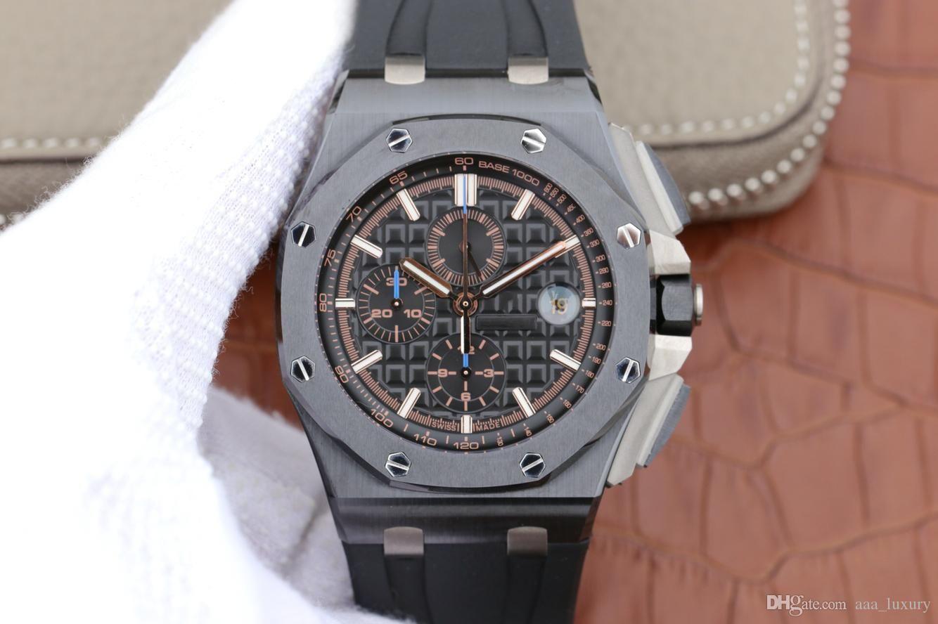 200m tasarımcı saatler: JF 26405 montre DE luxe CAL.3126 otomatik mekanik hareketi 44mm erkekleri su geçirmez derinliği saatler yeni