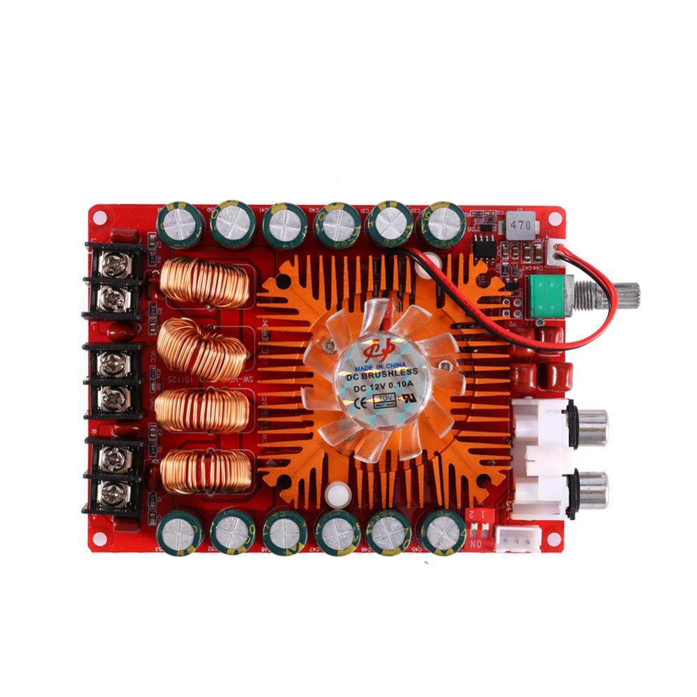Freeshipping ESTINK New TDA7498E Digital Amplifier Board 160W+160W Dual Channel Audio Stereo Power Amplifier Board Module High Power