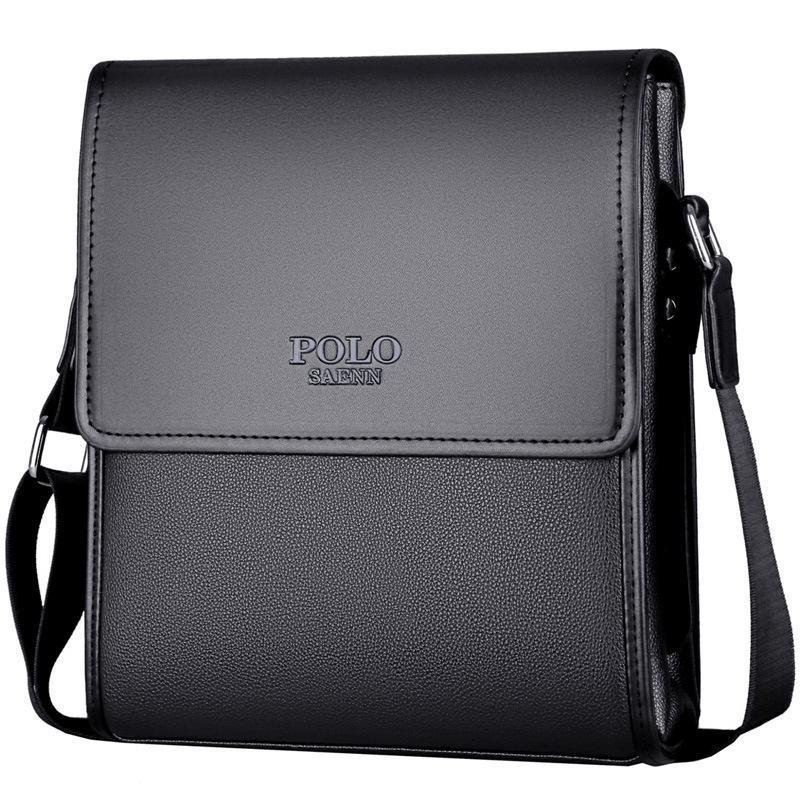 New Chegou mensageiro bolsa POLO dos homens bolsa de Negócios Da Marca maleta bolsa de ombro crossbody Frete Grátis