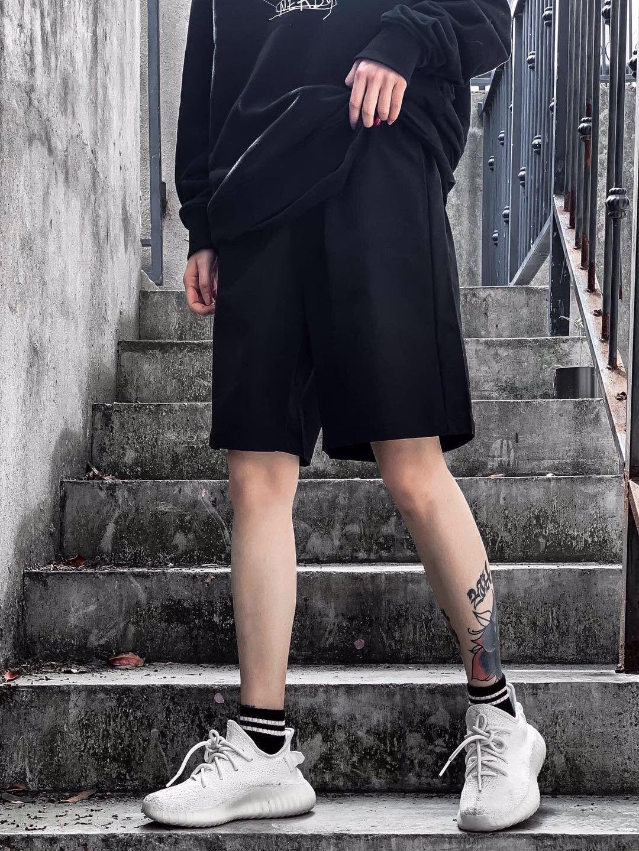 2020 new summer hip hop sports shorts men's fashion loose casual shorts men's beach pants B-8212