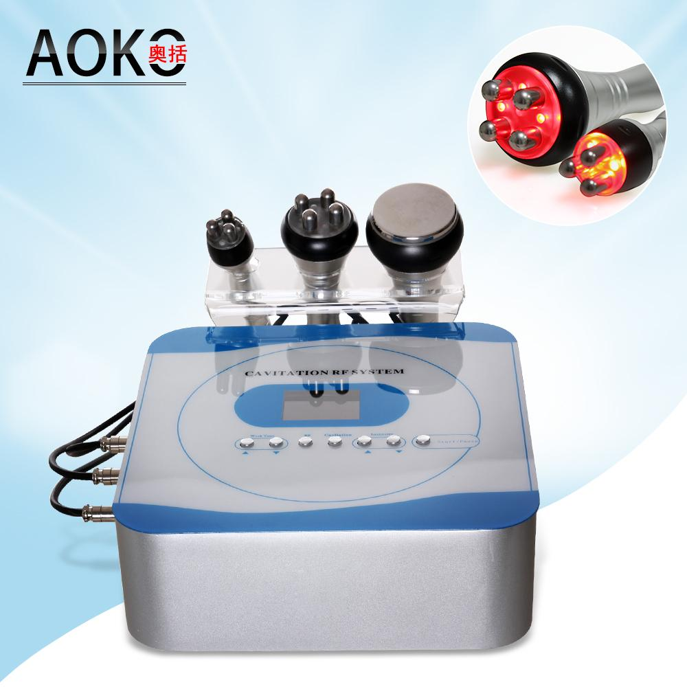 2017 Korean Newest technology portable cavitation rf slimming machine cavitation beauty equipment home use or salon use with CE