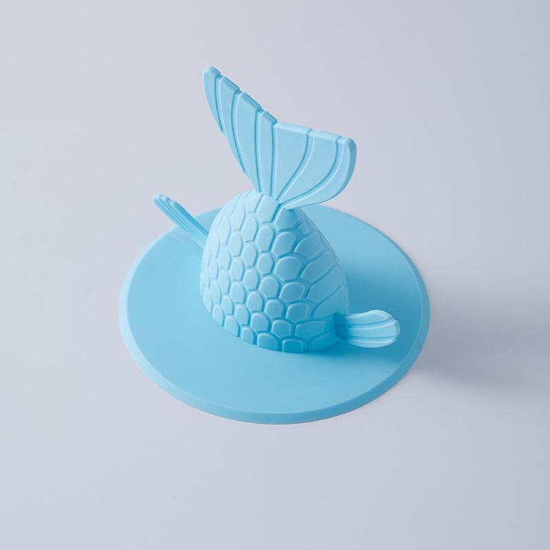 Küche Pool Stecker Fishtail-Form Wassertank Kanalisation Bodenablauf Abdeckung Presse Typ Plugging Wasser Wasch Stopper heißen Verkauf-4 8bx3 UU