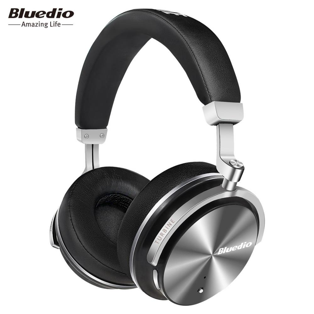 Bluedio T4s Bluetooth Earphones Active Noise Cancelling Wireless Bluetooth Headphones Wireless Headset With Mic For Gift Box Headphone Splitter In Ear Monitors From Highquality12 98 24 Dhgate Com