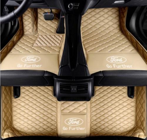 Ford kaşif 2006- 2015 Toksik değildir ve inodorousWaterproof Pad Araç Mat Halılar Toksik değildir ve kokusuz paspas için Araç paspas Fit