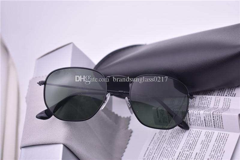 3548 бренд солнцезащитные очки мужчины женщины новое поступление полигон солнцезащитные очки feminino masculi зеркало солнцезащитные очки oculos de sol с коричневыми чехлами и коробкой