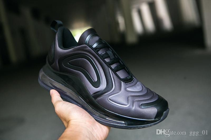 Großhandel Nike Airmax Air Max 720 2019 Throwback Future Greyscale Colorway Team Crimson Für Herren Damen Laufschuhe Atmen Mesh Sneaker 360 Luftsport