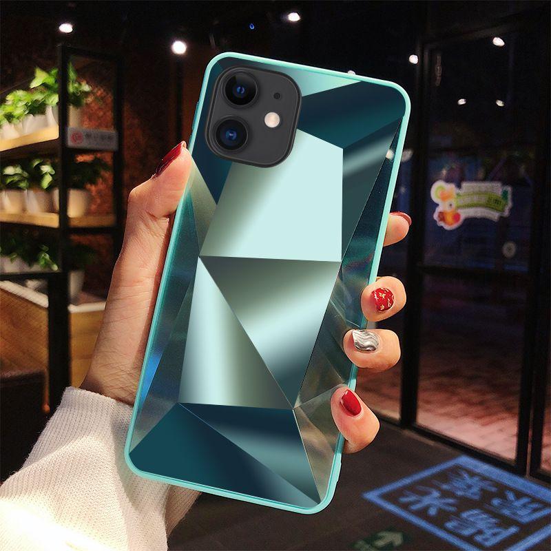 Luxo brilho Casos geléia TPU telefone Anti-Risco de choque iPhone rígido Capa Para 11 Pro Max 8 7 6 Plus Samsung Nota 10